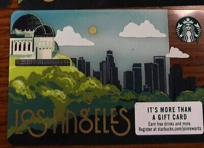 Starbucks also Angeles city card new release 2019