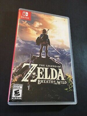 Legend of Zelda: Breath of the Wild (Nintendo Switch, 2017) MINT CONDITION