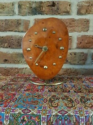 Vintage Wuba Table Clock with 8 days movement