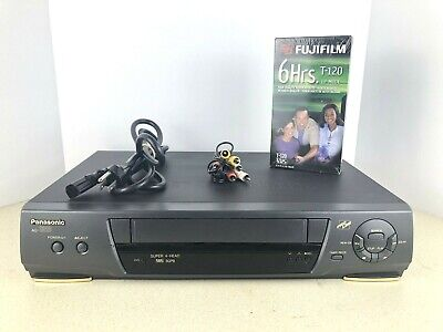 Panasonic AG-1320P VCR Video Cassette Recorder VHS Player 4 Head HiFi - TESTED