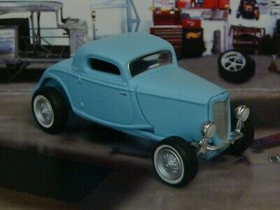 """Old School 1933 33 Ford Coupe """"Rat Rod"""" Hot Rod 1/64 Scale Limited Edition K"""