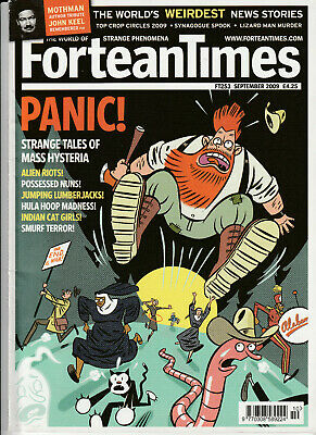 FORTEAN TIMES Magazine September 2009 - Panic!