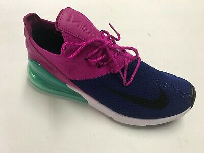 "NIKE AIR MAX 270 FLYKNIT""fuchsia flash"" MEN SZ 9.5 NEW & 100% AUTHENTIC"