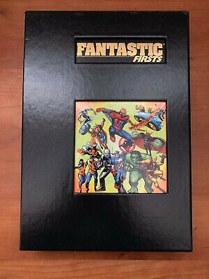 Rare Marvel Limited Fantastic Firsts Hardcover HC signed by Stan Lee OOP