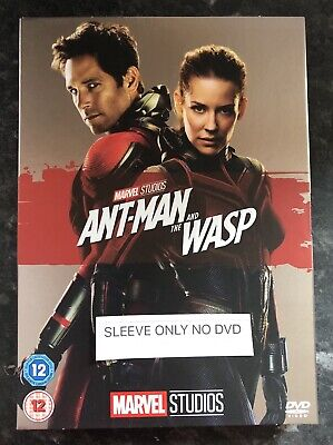 Ant Man And The Wasp Marvel Dvd Limited Edition Sleeve (Sleeve Only No Dvd) Mint