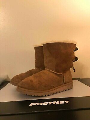 ebe97abe82e UGG AUSTRALIA BLACK Sweater Boots with Pink Bows Knit Boots Uggs ...