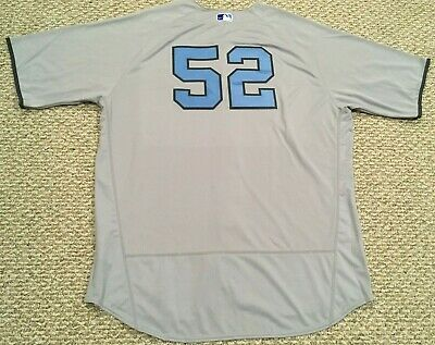 086bf776a C.C. SABATHIA  52 2017 New York Yankees Game Jersey Fathers Day STEINER MLB