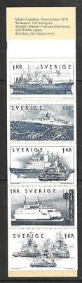 SWEDEN  - 1974.  Swedish Shipping - 5k. Booklet