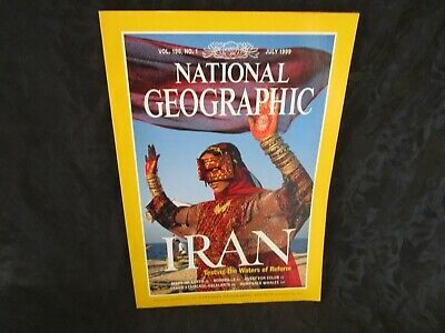 National Geographic July 1999 Iran Mars on Earth Hornbills Humpbacks Escalante