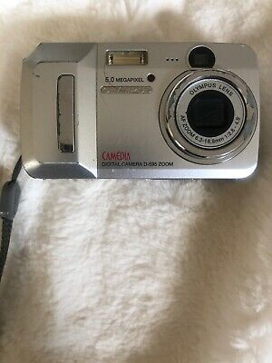 Olympus D-595 5MP Digital Camera with 3x Zoom 12x Optical/Digital/movie C7 Only