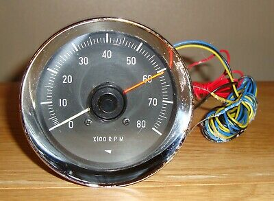 CLASSIC CAR YAZAKI No.YX 4602 12v TACHOMETER IN UNUSED CONDITION ~ 1970's