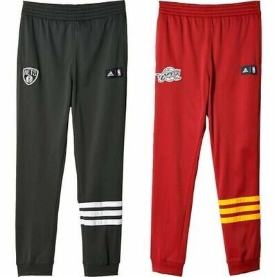 4d1ca3a49a31c Adidas NBA Été Run Basketball Pantalons Filets Cavaliers Gris Bordeaux  Jogging
