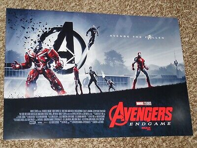 Avengers End Game Week 1 AMC 11x15.5 Promo Movie POSTER