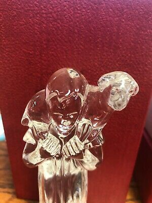 Waterford Crystal Shepard & Sheep Nativity collection  MINT IN ORIGINAL BOX