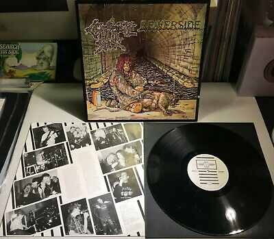 Concrete Sox ‎Sewerside LP 1989 UK Thrash Extreme Noise Terror Chaos UK Accused