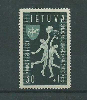 Lithuania - 1939 - SG433 - Mounted Mint.