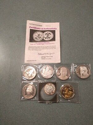 .999 Fine Silver Coin Lot 6.5 Oz Total.  Old coins