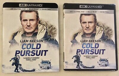 COLD PURSUIT (4K Ultra HD/Blu-ray/Digital, 2019) Slipcover; NEW SEALED COMPLETE