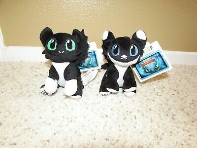 NEW Build a Bear NIGHT LIGHTS Blue AND Green  Eyes How To Train Your Dragon