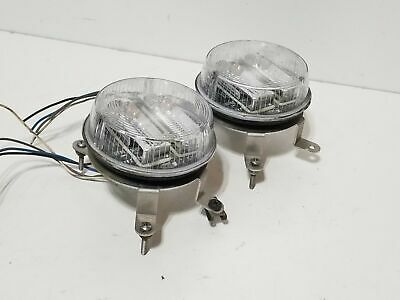 """Lot of 2x Whelen SMARTLED 3.5"""" Round Super-LED Stand Alone Lightheads LINZ6 B"""