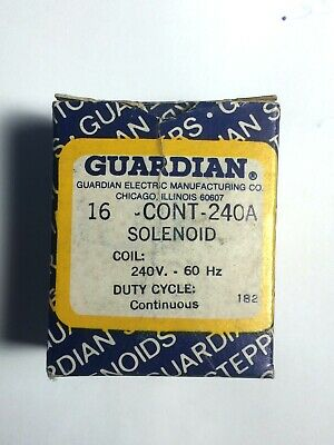 Guardian Electric Solenoid 16-C-240V 60Hz / A421-064142-03