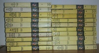 Very Nice Lot Of 20 Vintage Nancy Drew Mystery Picture Covers