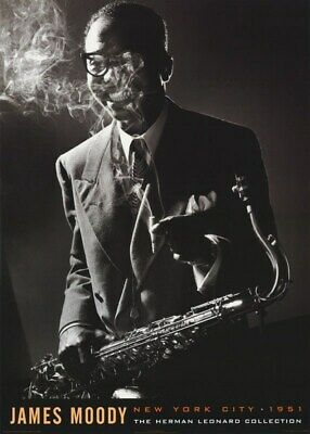 James Moody Poster The Herman Leonard Collection New York City 1951