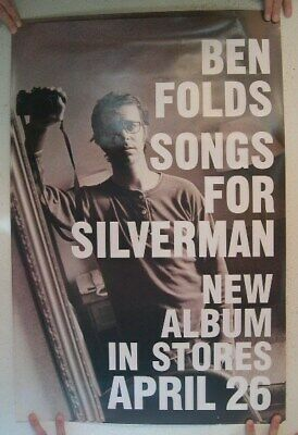 Ben Folds Poster Songs For Silverman Five 5