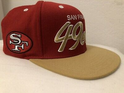 b3aa4326 SAN FRANCISCO 49ERS New Mitchell & Ness hat cap vtg NINERS LOOK ...