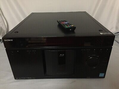Sony BDP-CX960 400 Disc Blu-ray Mega Changer with Non-Original Remote TESTED