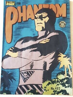 Frew Phantom comic book  issue 482. As new Excellent condition