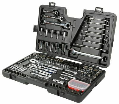 Halfords Advanced 150 Piece Socket & Ratchet Spanner Set Tool Box Hand Tools