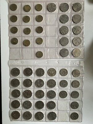 Australian Coin Collection 50 Cent, 20 Cent, And 1 Dollar