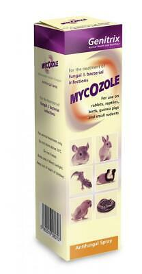 Mycozole Antifungal Spray | Reptiles, Small Animals, Birds | Skin & Coat