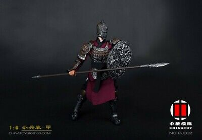 """1//6 Scale Male Ancient Soldier Jin Yiwei Shirt Pants Clothes Model for 12/"""" Toys"""