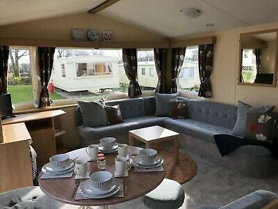 Sited Static Caravan Holiday Home on Peaceful Park in North Devon near Bude