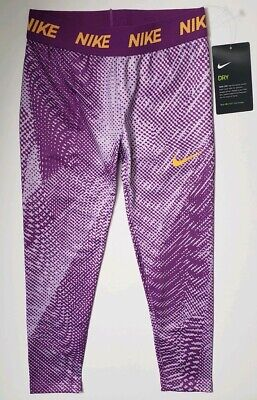 Nike Air Jumpman Girls Printed Leggings Size 6