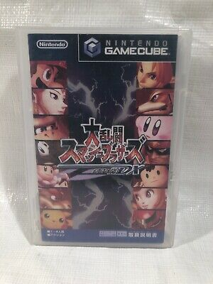 USA SELLER Super Smash Bros Melee GameCube Disc/Cover Only Japan NTSC-J