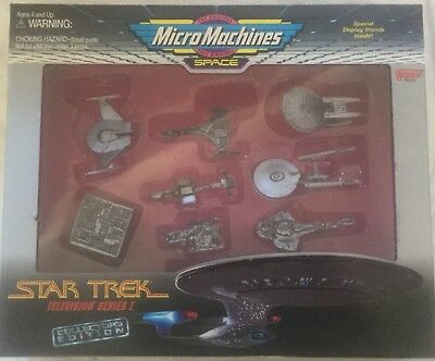 Star Trek Micro Machines Collectors Edition Television Series 1 Item No:66073