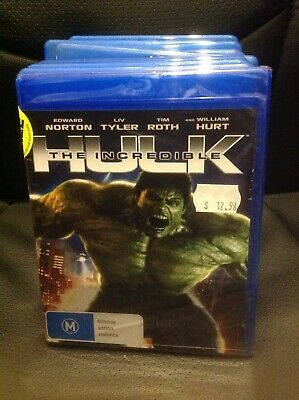 The Incredible Hulk Blu Ray Region B