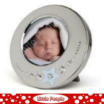Whitehill -BLUE STAR BABY FRAME - Dia. 12cm Sight 7cm