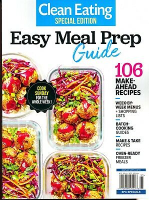 CLEARANCE! Clean Eating Special Edition - Easy Meal Prep Guide Winter 2019