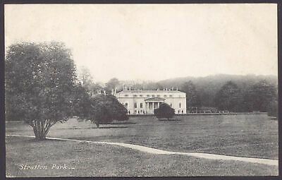 Micheldever, Hants. East Stratton. Stratton Park. 1907 Posted Printed Postcard