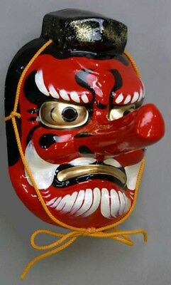 Japanese Tengu Legendary Long Nosed Goblin Mask Cosplay From Japan with Tracking
