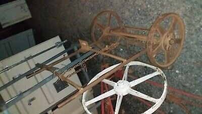 Large Antique Iron Wheel