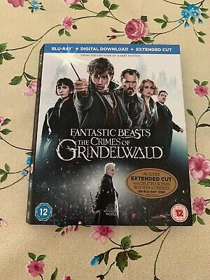 Fantastic Beasts: The Crimes Of Grindlewald Blu Ray Slipcover Only