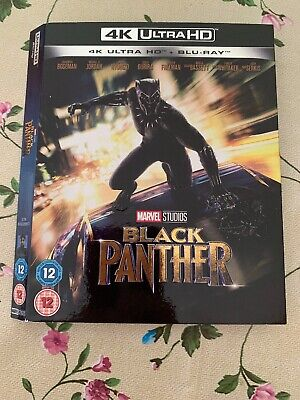 Black Panther 4K Ultra HD UHD Blu ray Slipcover Only
