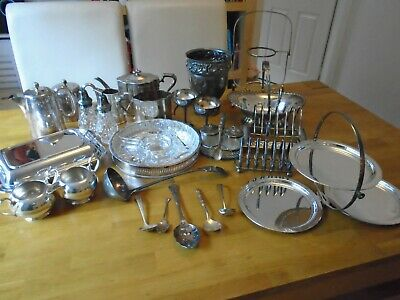 JOB LOT Of 26 Various EPNS Silver Plated Items