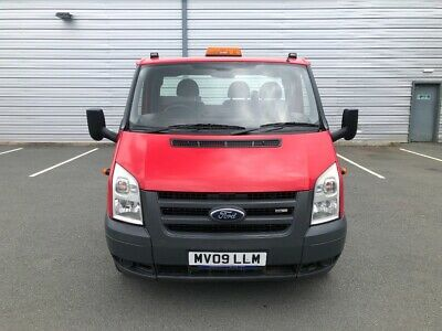 Ford Transit 100 Lwb Ef 5 Speed Chassis Cab Recovery Tipper Car Transporter Milk