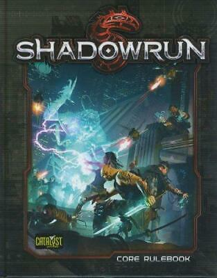 Shadowrun Core Rulebook, Very Good Condition Book, Catalyst Game L, ISBN 9781936